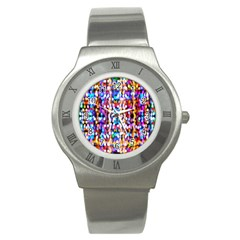 Bokeh Abstract Background Blur Stainless Steel Watch