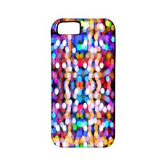 Bokeh Abstract Background Blur Apple Iphone 5 Classic Hardshell Case (pc+silicone)