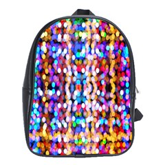 Bokeh Abstract Background Blur School Bags (xl)