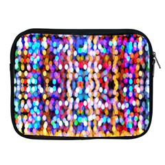 Bokeh Abstract Background Blur Apple Ipad 2/3/4 Zipper Cases