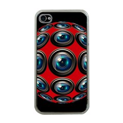 Camera Monitoring Security Apple Iphone 4 Case (clear)