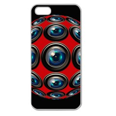 Camera Monitoring Security Apple Seamless Iphone 5 Case (clear) by Nexatart