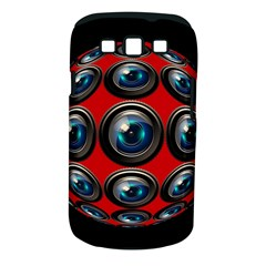 Camera Monitoring Security Samsung Galaxy S Iii Classic Hardshell Case (pc+silicone) by Nexatart