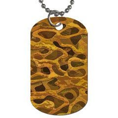 Camo Dog Tag (one Side)