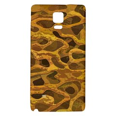 Camo Galaxy Note 4 Back Case by Nexatart