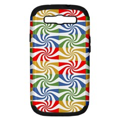Candy Pattern  Samsung Galaxy S Iii Hardshell Case (pc+silicone) by Nexatart