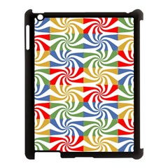 Candy Pattern  Apple Ipad 3/4 Case (black) by Nexatart