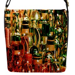Candles Christmas Market Colors Flap Messenger Bag (s) by Nexatart