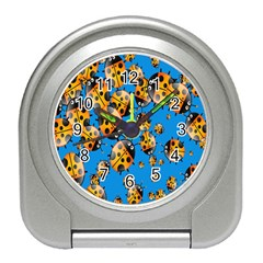 Cartoon Ladybug Travel Alarm Clocks