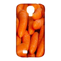 Carrots Vegetables Market Samsung Galaxy S4 Classic Hardshell Case (pc+silicone) by Nexatart