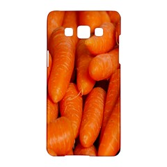 Carrots Vegetables Market Samsung Galaxy A5 Hardshell Case  by Nexatart