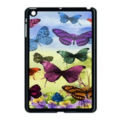 Butterfly Painting Art Graphic Apple Ipad Mini Case (black) by Nexatart