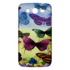 Butterfly Painting Art Graphic Samsung Galaxy Mega 5 8 I9152 Hardshell Case  by Nexatart