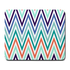 Chevrons Colourful Background Large Mousepads
