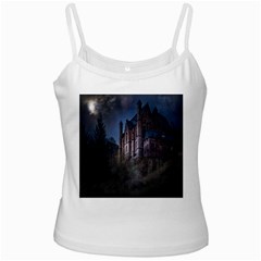 Castle Mystical Mood Moonlight Ladies Camisoles by Nexatart
