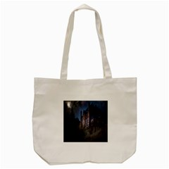 Castle Mystical Mood Moonlight Tote Bag (cream) by Nexatart
