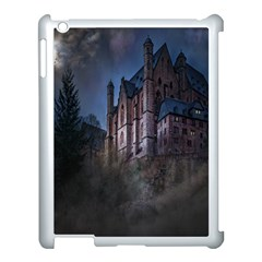 Castle Mystical Mood Moonlight Apple Ipad 3/4 Case (white) by Nexatart