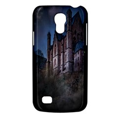 Castle Mystical Mood Moonlight Galaxy S4 Mini by Nexatart