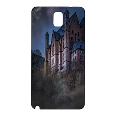 Castle Mystical Mood Moonlight Samsung Galaxy Note 3 N9005 Hardshell Back Case by Nexatart