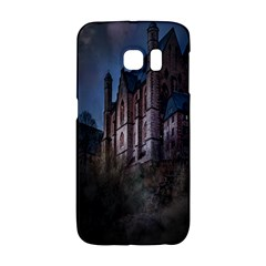 Castle Mystical Mood Moonlight Galaxy S6 Edge by Nexatart