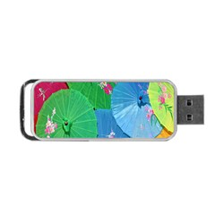 Chinese Umbrellas Screens Colorful Portable Usb Flash (one Side)