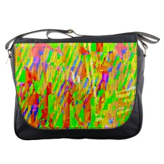 Cheerful Phantasmagoric Pattern Messenger Bags