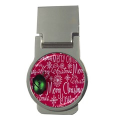 Christmas Decorations Retro Money Clips (round)