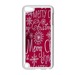 Christmas Decorations Retro Apple Ipod Touch 5 Case (white) by Nexatart