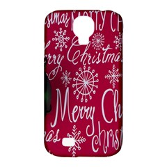 Christmas Decorations Retro Samsung Galaxy S4 Classic Hardshell Case (pc+silicone) by Nexatart