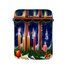 Christmas Lighting Candles Apple Ipad 2/3/4 Protective Soft Cases by Nexatart