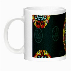 China Wind Dragon Night Luminous Mugs