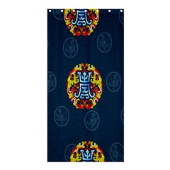 China Wind Dragon Shower Curtain 36  X 72  (stall)  by Nexatart