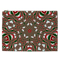 Christmas Kaleidoscope Cosmetic Bag (xxl)
