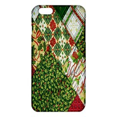 Christmas Quilt Background Iphone 6 Plus/6s Plus Tpu Case by Nexatart