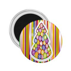 Christmas Tree Colorful 2 25  Magnets