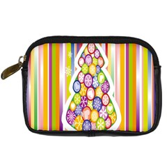 Christmas Tree Colorful Digital Camera Cases
