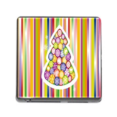 Christmas Tree Colorful Memory Card Reader (square)