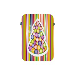 Christmas Tree Colorful Apple Ipad Mini Protective Soft Cases by Nexatart
