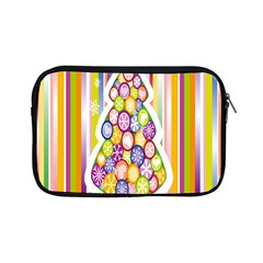 Christmas Tree Colorful Apple Ipad Mini Zipper Cases by Nexatart