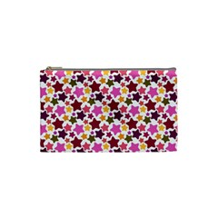 Christmas Star Pattern Cosmetic Bag (small)  by Nexatart
