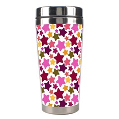 Christmas Star Pattern Stainless Steel Travel Tumblers