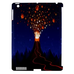 Christmas Volcano Apple Ipad 3/4 Hardshell Case (compatible With Smart Cover) by Nexatart