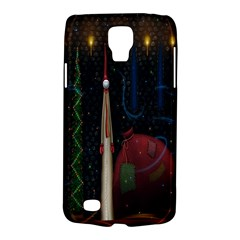 Christmas Xmas Bag Pattern Galaxy S4 Active by Nexatart