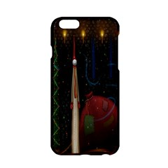 Christmas Xmas Bag Pattern Apple Iphone 6/6s Hardshell Case by Nexatart