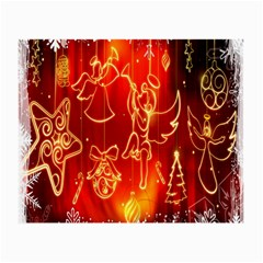 Christmas Widescreen Decoration Small Glasses Cloth (2 Side)