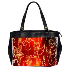 Christmas Widescreen Decoration Office Handbags (2 Sides)  by Nexatart