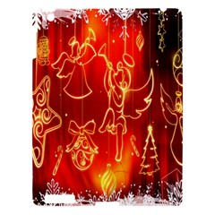 Christmas Widescreen Decoration Apple Ipad 3/4 Hardshell Case by Nexatart