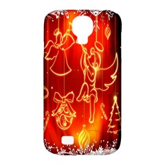 Christmas Widescreen Decoration Samsung Galaxy S4 Classic Hardshell Case (pc+silicone) by Nexatart