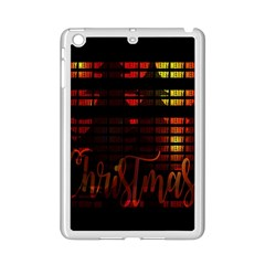Christmas Advent Gloss Sparkle Ipad Mini 2 Enamel Coated Cases by Nexatart