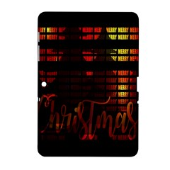Christmas Advent Gloss Sparkle Samsung Galaxy Tab 2 (10 1 ) P5100 Hardshell Case  by Nexatart